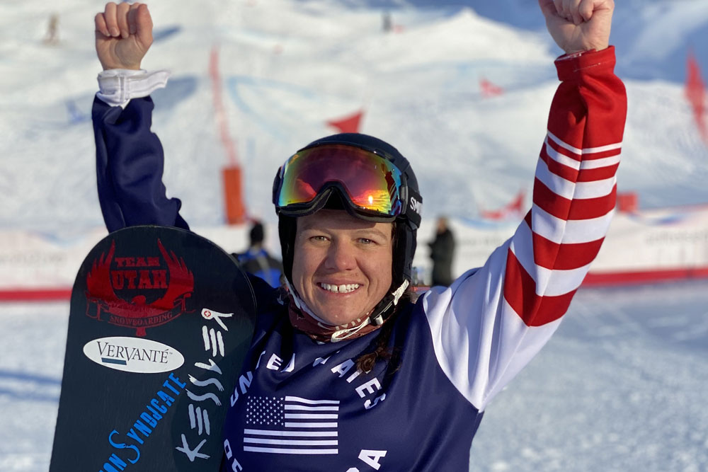 Coury Earns Bronze in Initial Round of Para Snowboard World Cup Finals in Hafjell, Norway